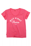 Prosecco V-neck Very Pink Tee