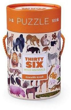 Puzzle crocodile creek 100
