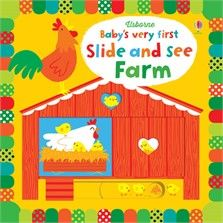 Usborne Baby's very first Slide and see Farm