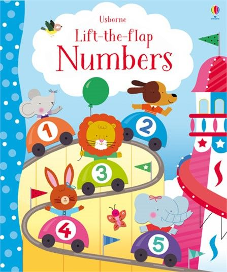 Numbers Lift the flap