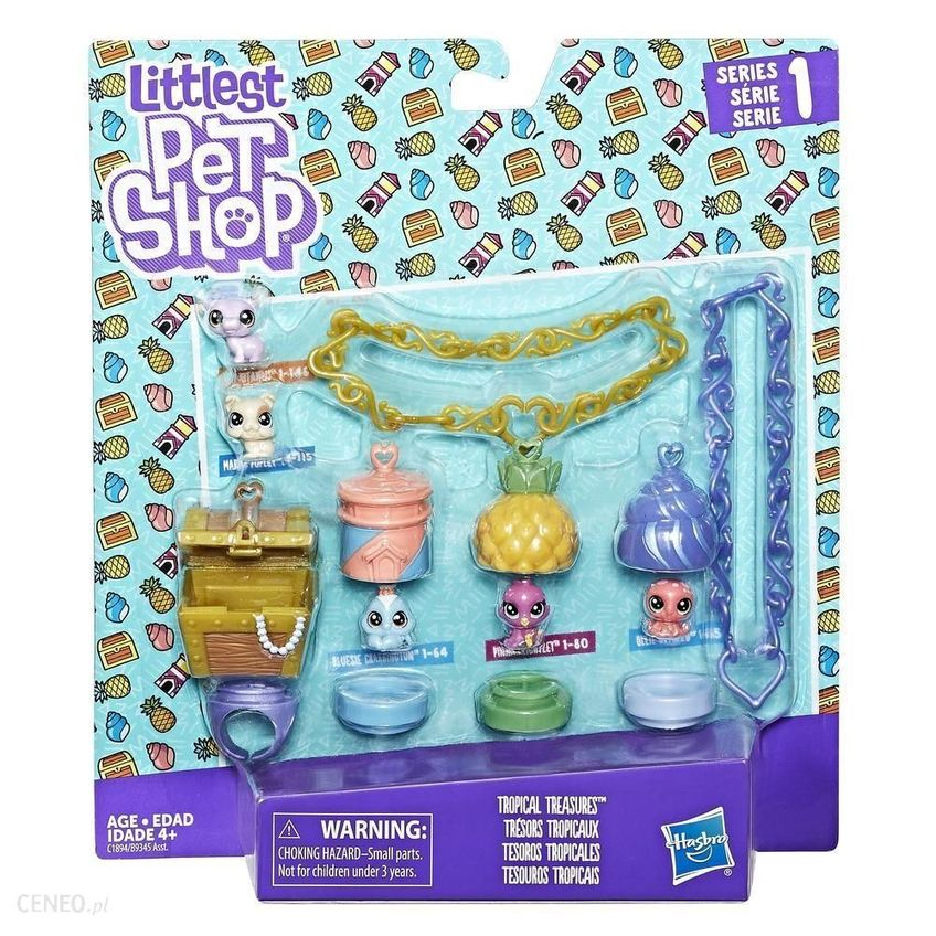 LITTLEST PET SHOP Tropikalny Skarb