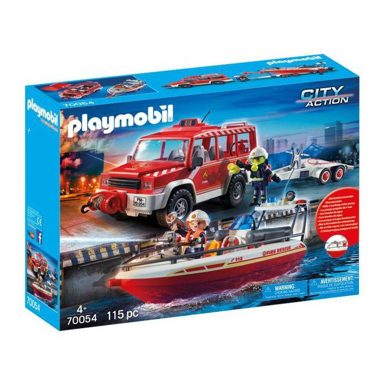 Playmobil City Action 70054