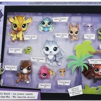 Littlest Pet Shop Zestaw 11 figurek exotic