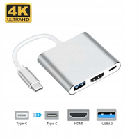USB C HUB do HDMI, USB 3, USB C