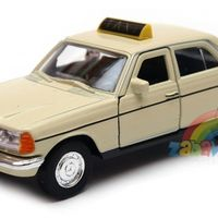 Mercedes-Benz 230E beczka TAXI 1:34-39 model WELLY