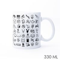 Pop Icons Ceramic Mug
