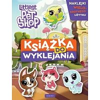 Książka do wyklejania Pet Shop