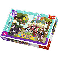 Trefl puzzle 100 Pet Shop