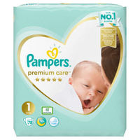 Pieluszki pampers premium care 1