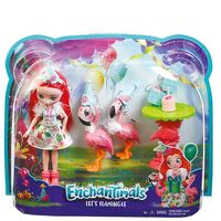 ENCHANTIMALS flamingi