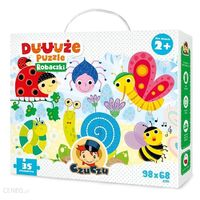Czuczu Puzzle Robaczki Bright Junior Media 35el.