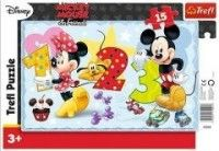 Puzzle Minnie 15 el.