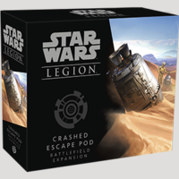 Crashed Escape Pod Battlefield Expansion - Fantasy Flight Games